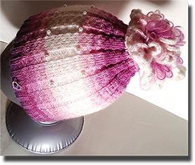 Шапка цветок ручной работы на заказ