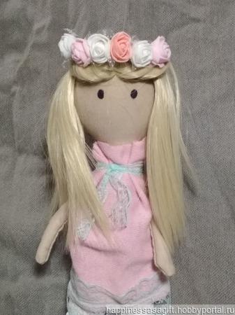 """Кукла """"Ася"""" ручной работы на заказ"""