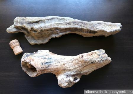 Дерево морское дрифтвуд арт-объект 5 ручной работы на заказ