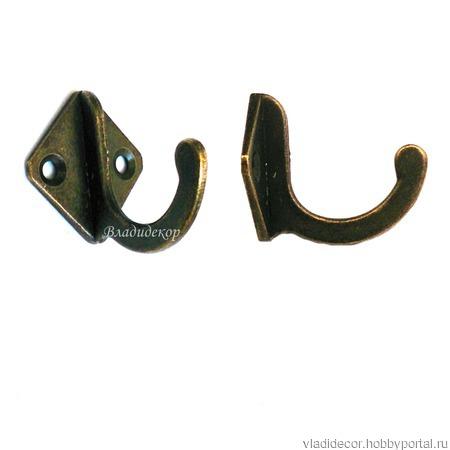 Крючки шкафа ключницы М-111 бронза серебро ручной работы на заказ