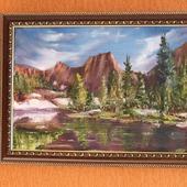 """Картина """"Озеро Лазурное"""""""