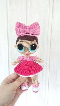 Кукла Лол ручной работы на заказ