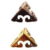 Уголки фурнитура шкатулки М-30 бронза золото