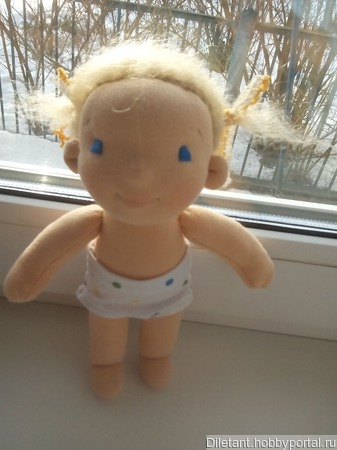 Кукла Апельсинка ручной работы на заказ