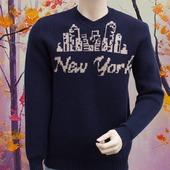 Мужской свитер New York