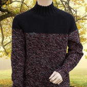 Брутальный мужской свитер