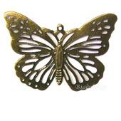Накладка филигрань коннектор Ф-73 украшение бабочка