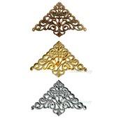 Филигрань декор уголки Ф-40 бронза золото серебро
