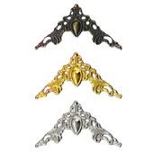 Филигрань декор уголки Ф-53 бронза золото серебро