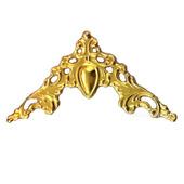 Филигрань декор уголки Ф-53  золото