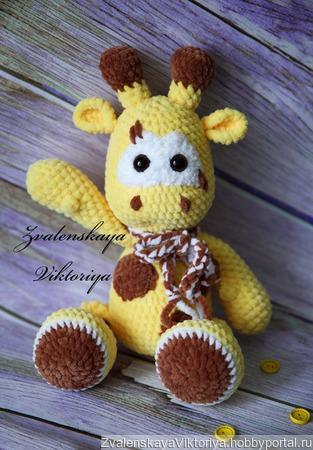 Жирафик плюшевый ручной работы на заказ