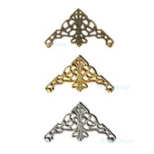 Филигрань декор уголки Ф-42 бронза золото серебро