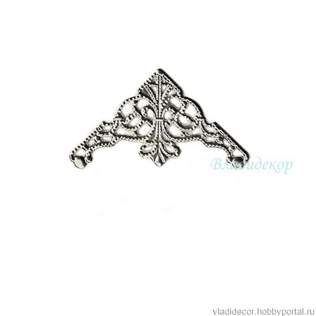 Филигрань декор уголки Ф-42 бронза золото серебро ручной работы на заказ