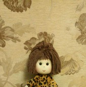 Куколка в леопардовом платье