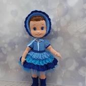 Куколка в синем