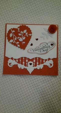 Валентинка - открытка (3) ручной работы на заказ