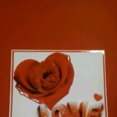 Валентинка - открытка 3D (2)