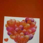 Валентинка - открытка 3D (1)
