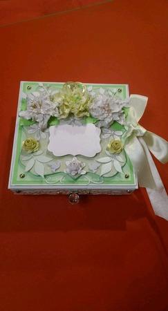 Свадебная Шкатулка - открытка ручной работы на заказ