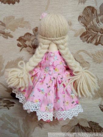 Куколка со светлыми волосами ручной работы на заказ