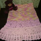 Летняя детская юбка
