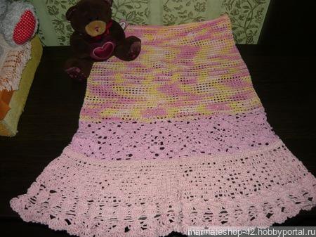 Летняя детская юбка ручной работы на заказ