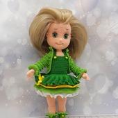 Куколка в зеленом