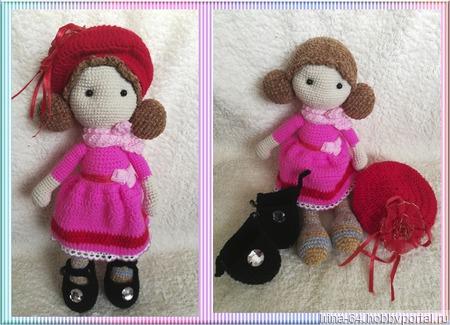 Куколка модница ручной работы на заказ