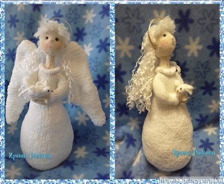 Ангел с голубем ручной работы на заказ