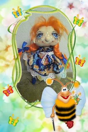 Куколка Июнь ручной работы на заказ