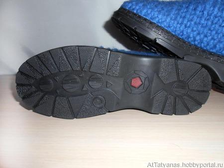 """Ботинки зимние модель """"Буряшки"""" ручной работы на заказ"""