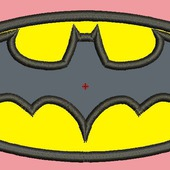 """Дизайн для вышивки """"Бэтмен"""""""