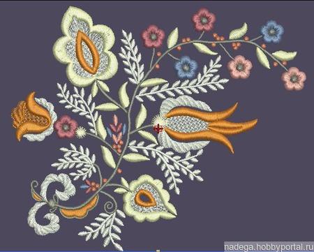Дизайн для вышивки Узор 3 ручной работы на заказ