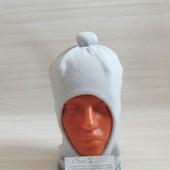 Демисезонная шапка шлем для мальчика