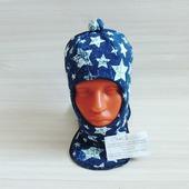 Шапка шлем для мальчика - коллекция джинса