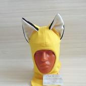 Шапка шлем с ушками