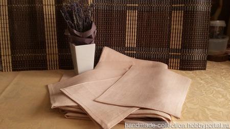 Скатерть и салфетки ручной работы на заказ