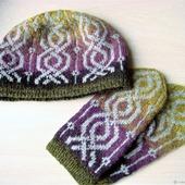 Шапка и рукавицы