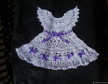 Платье и чепчик ручной работы на заказ
