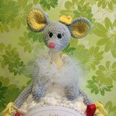 Мышка балерина Моника