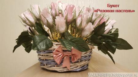 Конфетный букет - сладкий подарок ручной работы на заказ