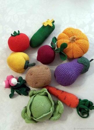Овощной набор ручной работы на заказ