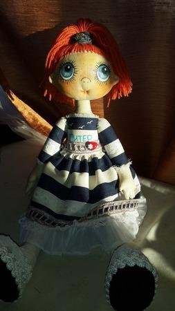 Интерьерная кукла Лера ручной работы на заказ