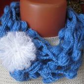 Украшение вязаное - шарфик