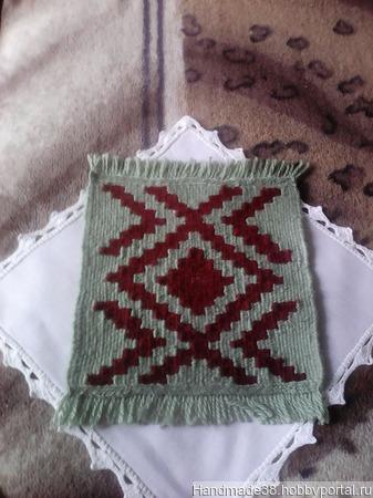 Мини-коврик ручной работы на заказ