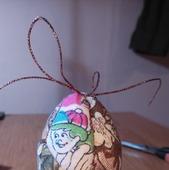 Мастер-класс техника кинусайга-пасхальные яйца