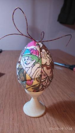 Мастер-класс техника кинусайга-пасхальные яйца ручной работы на заказ