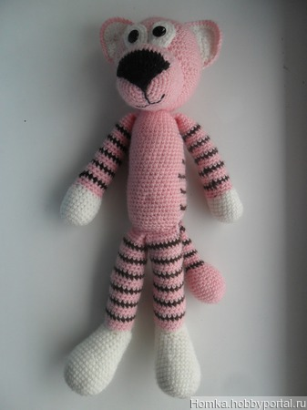 Тигруша или розовая пантера ручной работы на заказ