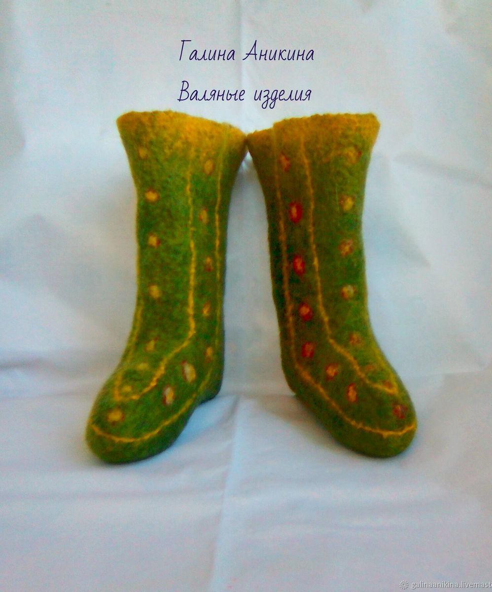 b98d850d35548 Носки валяные женские, размер 35 – купить в интернет-магазине ...
