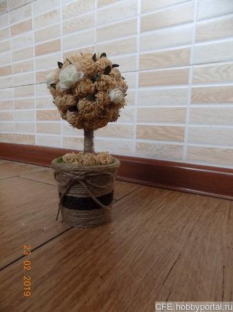 Топиарий дерево счастья ручной работы на заказ